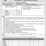 Jobs in Cantonment Board Kohat 2021 Latest Jobs